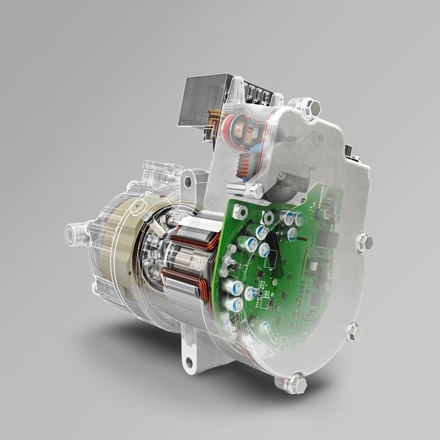 Der elektrische Kältemittelverdichter von Brose arbeitet nur bei Bedarf und ist dadurch sparsamer als herkömmliche Varianten.