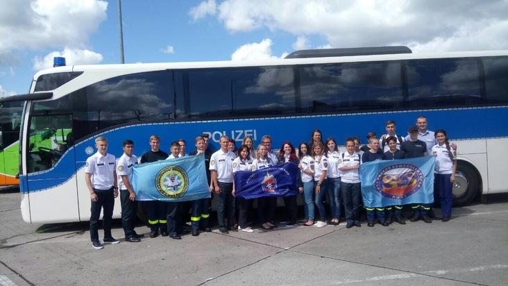 THW-HH MV SH: Jugendliche aus Russland besuchen THW-Jugend in Mecklenburg-Vorpommern