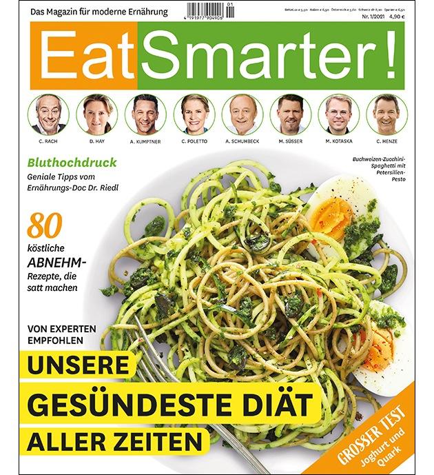 Eat Smarter Heft 1 2021 Die Grosse Abnehmausgabe Mit Der Gesundesten Diat Aller Zeiten Presseportal