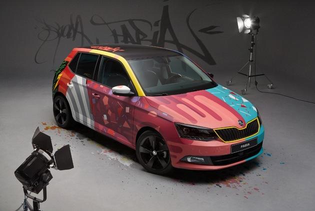 SKODA Fabia wird zum ,Art Car'