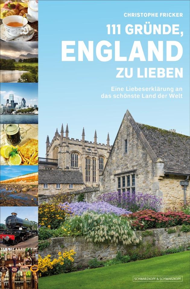111 Gründe, England zu lieben - Cover 2D