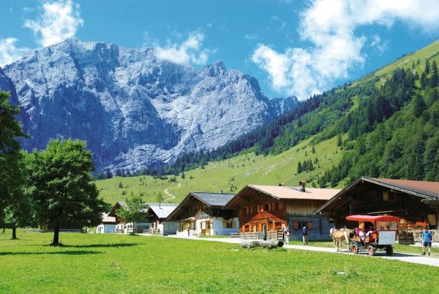 Naturgenuss Karwendel, aber umweltfreundlich & stressfrei! - BILD