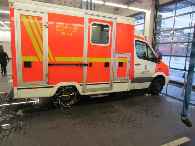 Viele Einsätze für die Feuerwehr Mülheim