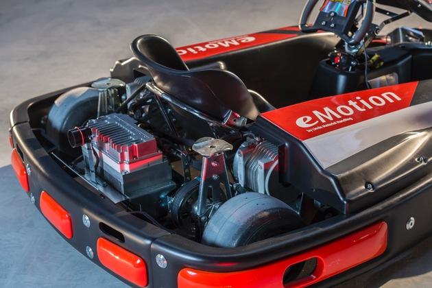E-DRENALINE - Stapler-Hightech trifft Racing-Knowhow / Kart-Hersteller CRG setzt auf elektrische Antriebstechnik von Linde Material Handling