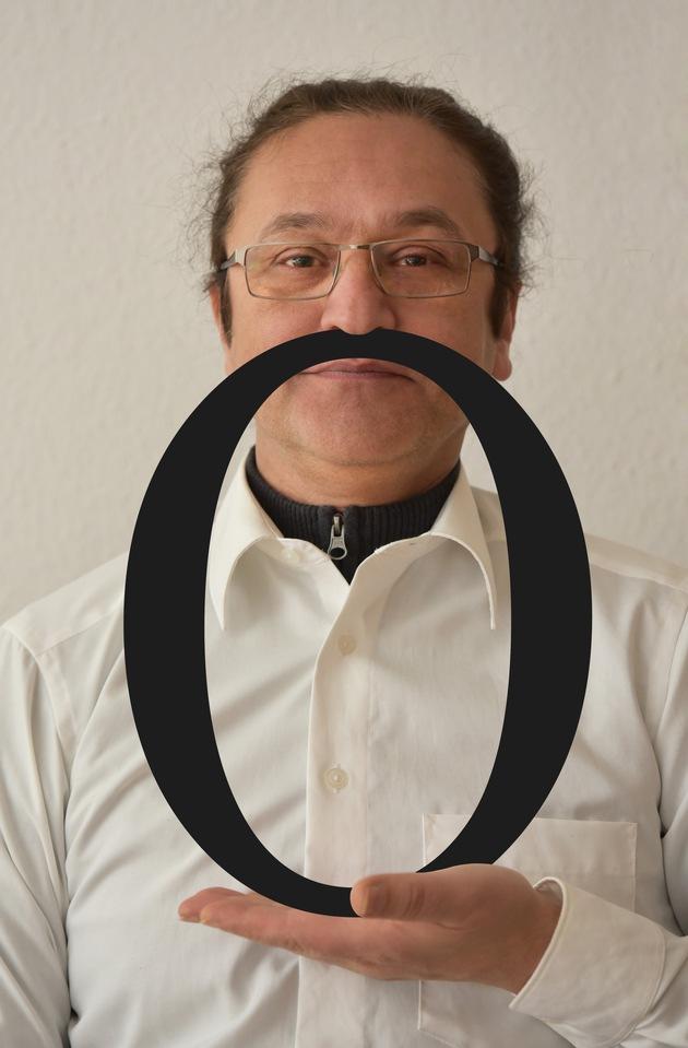 """Bildunterschrift: """"Babak Saed mit seinem Oh"""""""