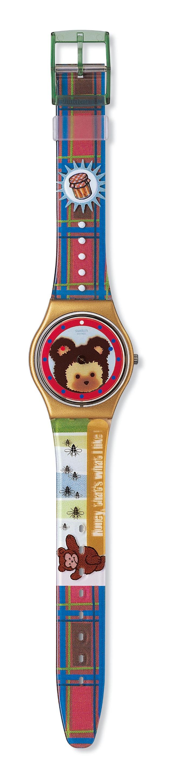 Swatch soutient la libre circulation des ours bruns