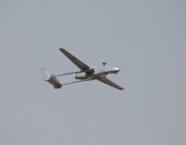 Heron 1 erreicht 2.000. Flugstunde (mit Bild)