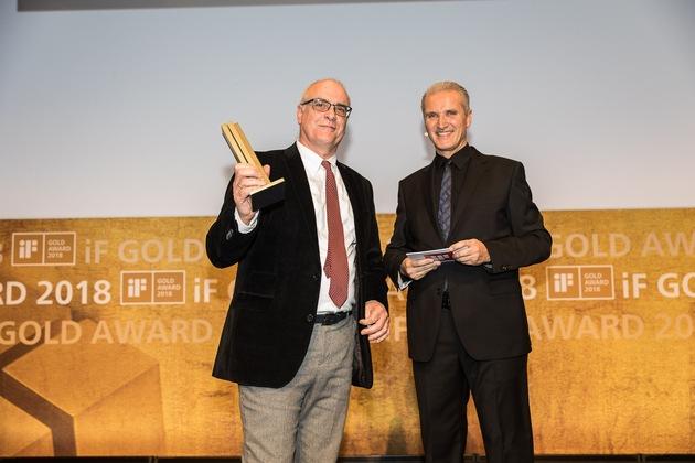 Bildrechte: iF International Design Forum (Links: Peter Würth, HOFFMANN UND CAMPE X)