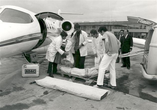 Weltweite Hilfe seit 40 Jahren / Der ADAC Ambulance Service fliegt Urlauber bei Unfall oder Krankheit weltweit heim / 788 843 Patienten wurden seit 1975 betreut