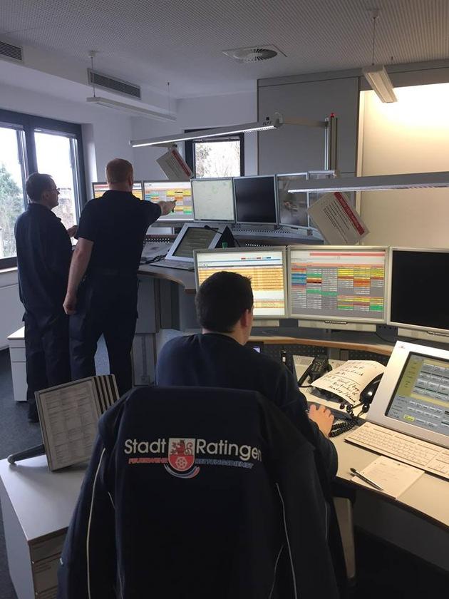 Einsatzzentrale der Feuerwehr Ratingen