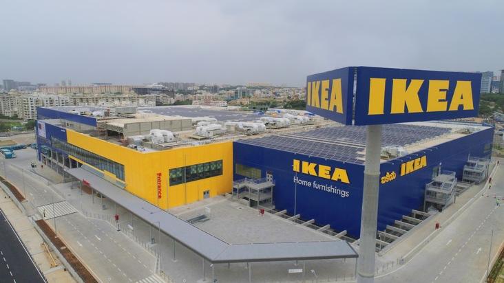 """Das erste IKEA Einrichtungshaus in Indien eröffent am 09. August in Hyderabad. Weiterer Text über ots und www.presseportal.de/nr/29291 / Die Verwendung dieses Bildes ist für redaktionelle Zwecke honorarfrei. Veröffentlichung bitte unter Quellenangabe: """"obs/IKEA Deutschland GmbH & Co. KG/(c) IKEA 2018"""""""