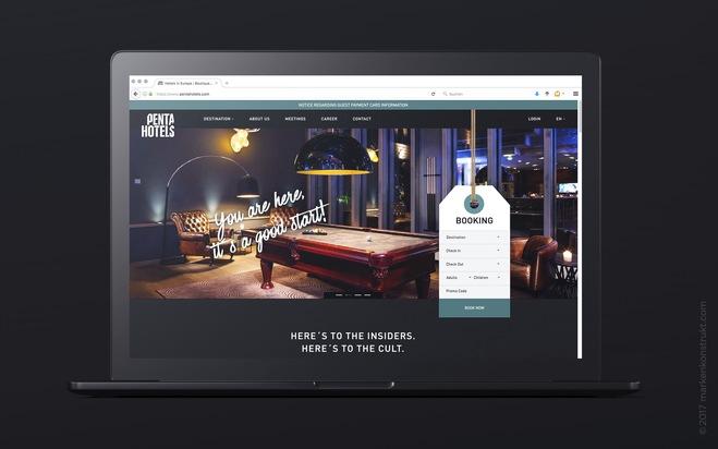 MARKENKONSTRUKT entwickelt neues Onlineportal für Pentahotels