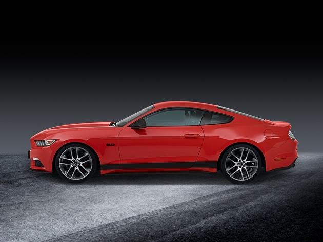 """Ford Performance Parts: Sportliches Tuningprogramm für Straße und Rennstrecke / Ford Mustang / Weiterer Text über ots und www.presseportal.de/nr/6955 / Die Verwendung dieses Bildes ist für redaktionelle Zwecke honorarfrei. Veröffentlichung bitte unter Quellenangabe: """"obs/Ford-Werke GmbH"""""""