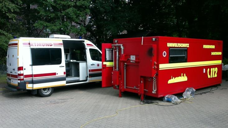 Die Fahrzeuge der ATF-Dortmund in Hamburg
