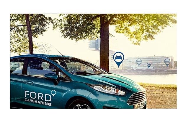 """Ford Carsharing. App Weiterer Text über OTS und www.presseportal.de/pm/6955 / Die Verwendung dieses Bildes ist für redaktionelle Zwecke honorarfrei. Veröffentlichung bitte unter Quellenangabe: """"obs/Ford-Werke GmbH"""""""