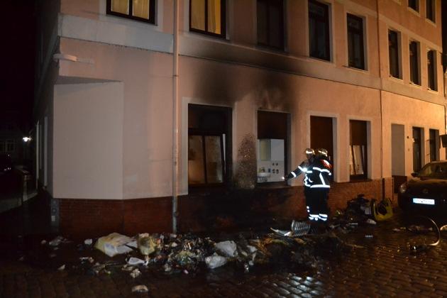 Brandstelle Bungenstraße 3