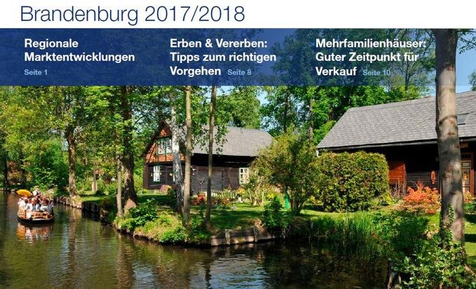 PM Immobilienmarktzahlen Brandenburg 2017 | PlanetHome Group GmbH