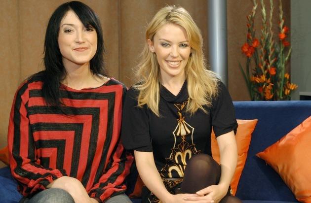 Charlotte Roche Trifft Kylie Minogue Die
