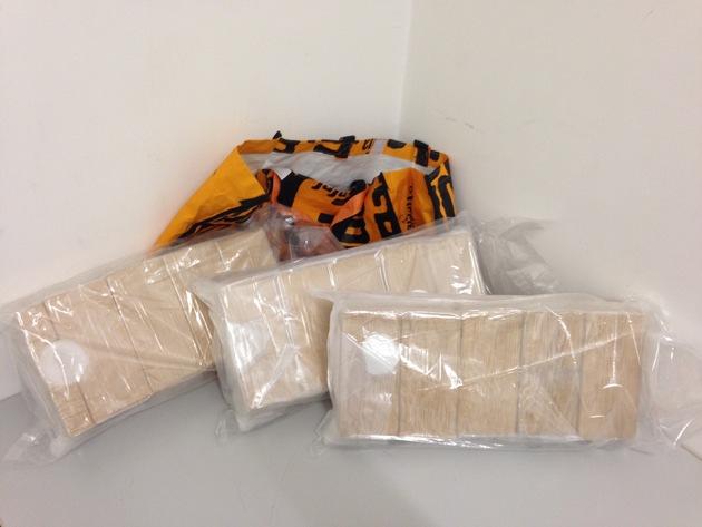 Beschlagnahmtes Heroin, Bild 2