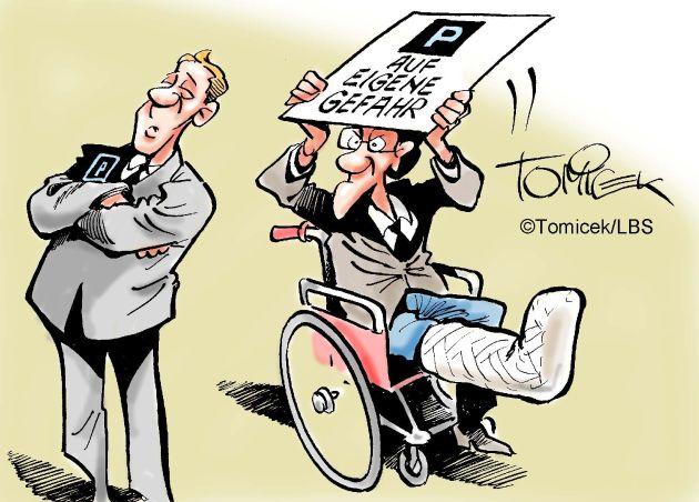 """Im schlechtesten Falle gibt es sogar juristische Auseinandersetzungen um den Zuschnitt des Stellplatzes oder um Unfälle, die sich in einem Parkhaus ereignen. Der Infodienst Recht und Steuern der LBS hat in seiner Extraausgabe einige Urteile deutscher Gerichte gesammelt, die von diesem Themenkreis handeln. Weiterer Text über OTS und www.presseportal.de/pm/35604 / Die Verwendung dieses Bildes ist für redaktionelle Zwecke honorarfrei. Veröffentlichung bitte unter Quellenangabe: """"obs/Bundesgeschäftsstelle Landesbausparkassen (LBS)"""""""