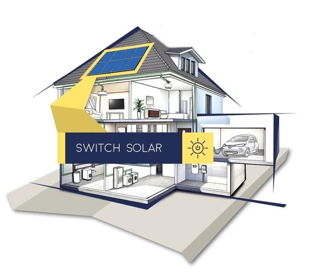 Das erfolgreiche Solaranlagen-Mietmodell der MEP wird zukünftig unter der neuen Marke Switch Solar angeboten.