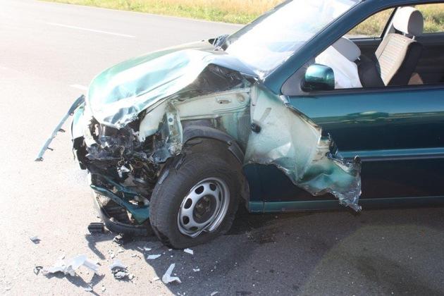 Verkehrsunfall Höxter, Kreisstraße 46