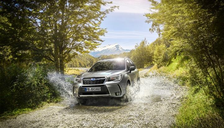 Subaru Forester rollt komfortabler und sicherer ins Modelljahr 2018