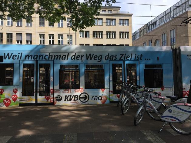 Zwei Jahre KVB-Rad / Fast 1,2 Millionen Ausleihen