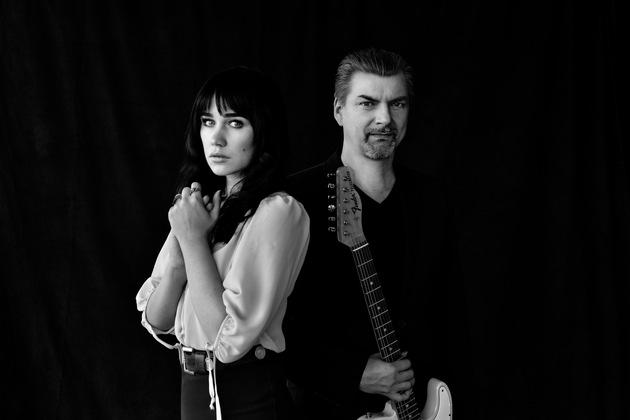 Kampagnenmotiv I'M SOUND: Laura Carbone und Kosho, beide Mannheimer Künstler (Foto: Ruben Jacob Fees / Mannheimer Versicherung AG)