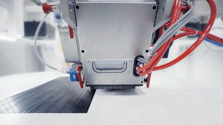 Automatisierte und belastungsgerechte Fertigung im Fiber Placement Center