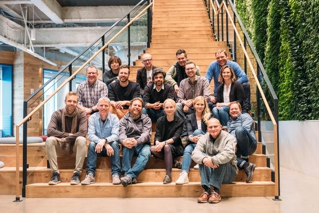 """Team IKEA und Sonos. Weiterer Text über ots und www.presseportal.de/nr/29291 / Die Verwendung dieses Bildes ist für redaktionelle Zwecke honorarfrei. Veröffentlichung bitte unter Quellenangabe: """"obs/Inter IKEA Systems B.V. 2018"""""""