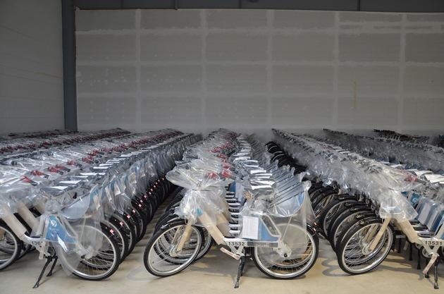"""FordPass Bike startet am 15. Oktober in Köln und Düsseldorf. Weiterer Text über ots und www.presseportal.de/nr/6955 / Die Verwendung dieses Bildes ist für redaktionelle Zwecke honorarfrei. Veröffentlichung bitte unter Quellenangabe: """"obs/Ford-Werke GmbH"""""""