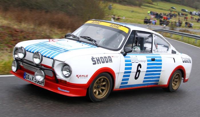 SKODA startet mit sechs Klassikern bei Oldtimer-Rallye AvD-Histo-Monte