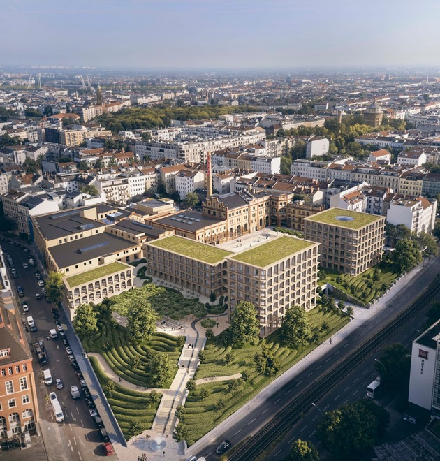 Bötzow Quartier nach finaler Fertigstellung in 2022  Bildquelle DCALaborgh - Bild 1