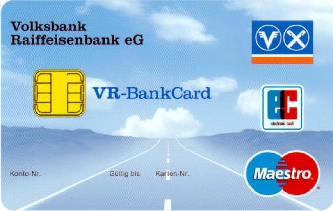Auslaufmodell eurocheque-Karte / Bank-Kundenkarten erhalten neues Design