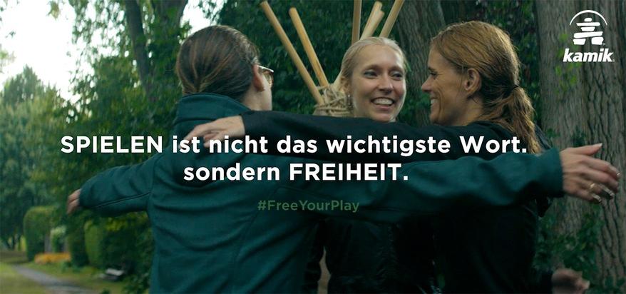 """Kamiks Free Play Initiative Weiterer Text über ots und www.presseportal.de/nr/132222 / Die Verwendung dieses Bildes ist für redaktionelle Zwecke honorarfrei. Veröffentlichung bitte unter Quellenangabe: """"obs/Kamik"""""""