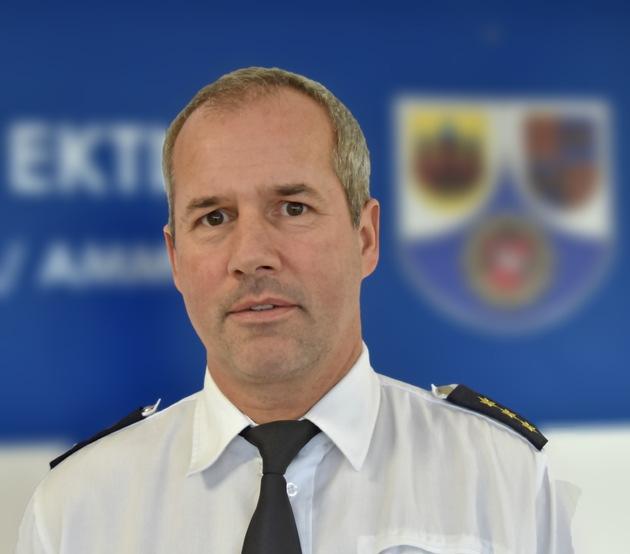 Polizeidirektor Jürgen Harms