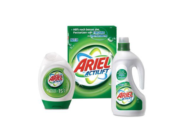 Ariel mit Actilift(TM) - die Revolution auf dem Waschmittelmarkt (mit Bild)