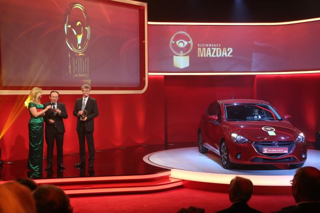 "Mazda2 gewinnt ""GOLDENES LENKRAD"""