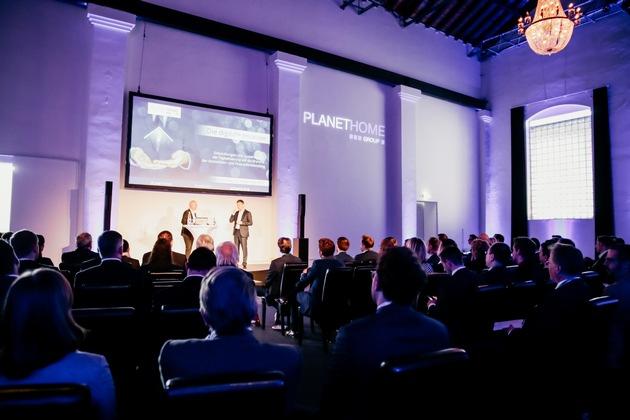 Foto Event 1 (li. Marcus Rex, Mitglied der Geschäftsführung PlanetHome Group GmbH, re.: Dr. Klaus von Rottkay, CEO, PlanetHome Group GmbH)