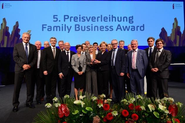 FRAISA SA gewinnt den Family Business Award 2016