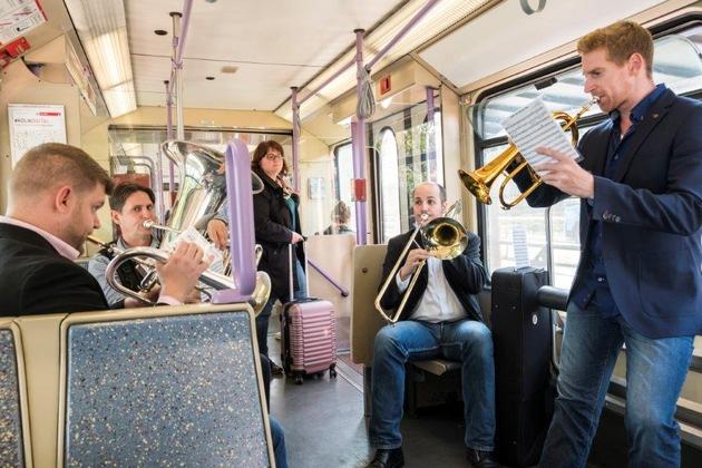 Musikalische Mittagspause mit Drachenfelser Brass