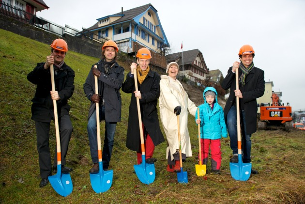 Heilpraktikerschule Luzern: Spatenstich in Ebikon ist erfolgt