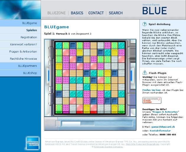 Die Zukunft der Kreditkarte ist BLUE