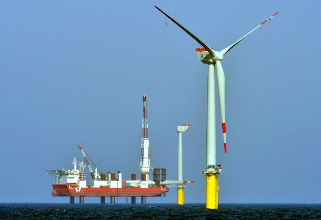 Erster Stadtwerke-Offshore-Windpark steht