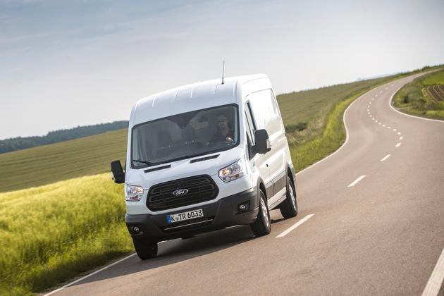 Ford erzielt im ersten Quartal 2017 ein weiteres Plus auf dem Nutzfahrzeugmarkt