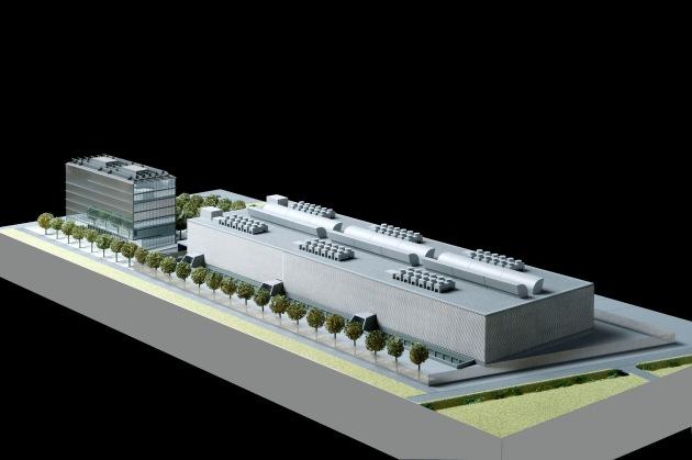 green.ch ha in progetto di costruire un nuovo greenDatacenter