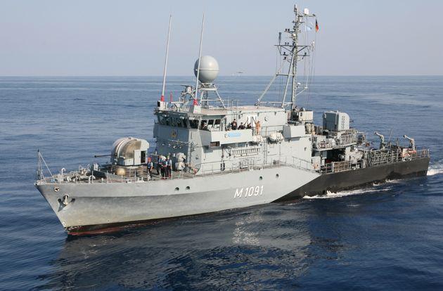Deutsche Marine - Pressemeldung: Kommandowechsel beim 3. Minensuchgeschwader in Kiel