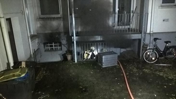 Der Keller brannte in kompletter Ausdehnung