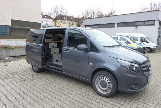 POL-HN: Heilbronn: Fachdienst Gewerbe und Umwelt im Besitz eines neuen Umweltfahrzeuges